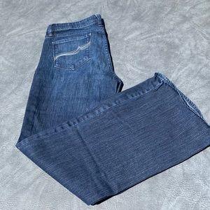 EUC wide leg jean
